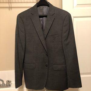 Calvin Klein Dark Grey Suit Jacket Slim Fit